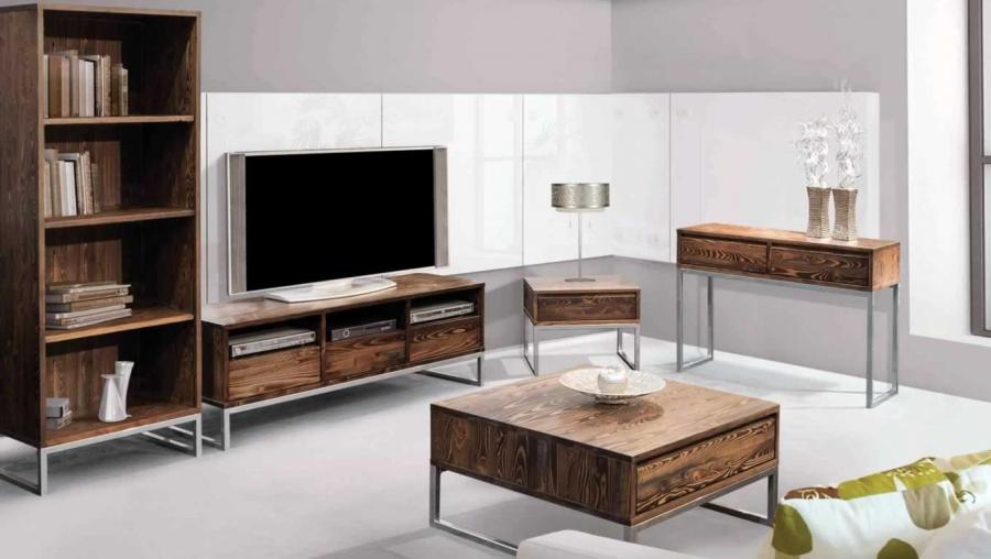 Rustica Wall Unit Furniture Design by Viebois, Canada