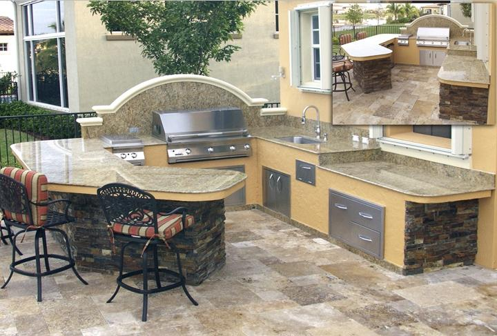 florida outdoor kitchen photos