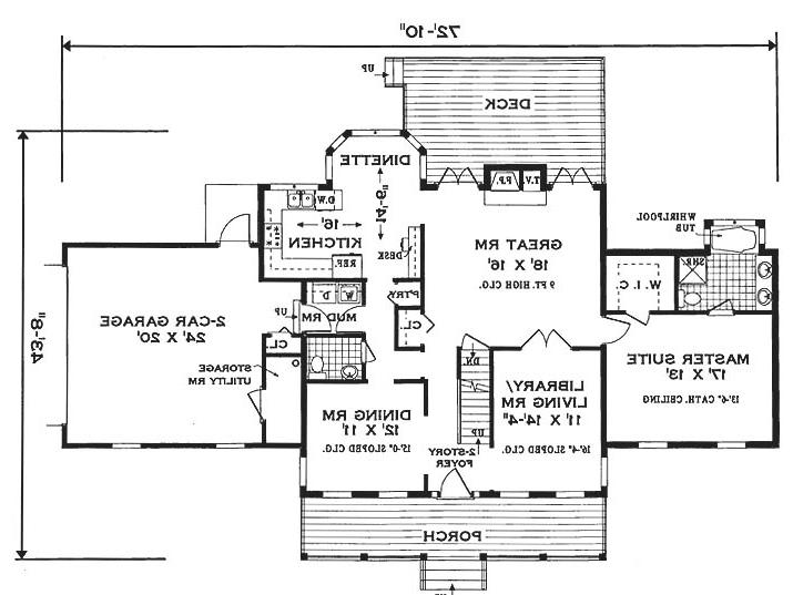 Southern Colonial House Plans Photos