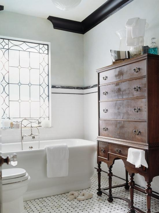 White Bathroom Ideas and Pictures  The Spruce
