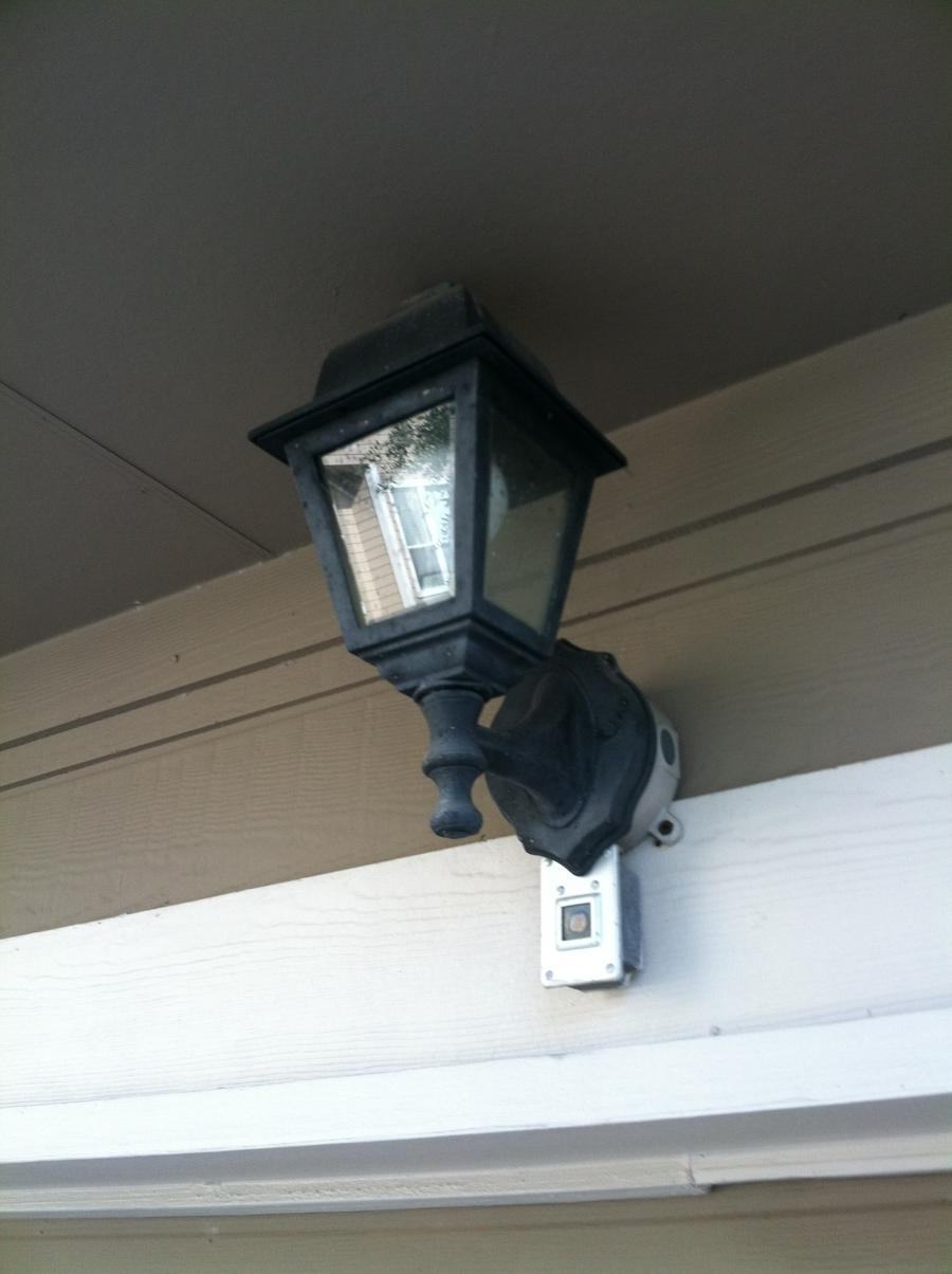 Perry Builders also put many of the Garage Lights on light...