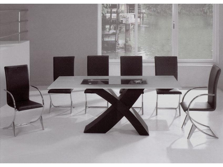 Modern Dining Room Tables for You: Modern Glass Dining Room Table...