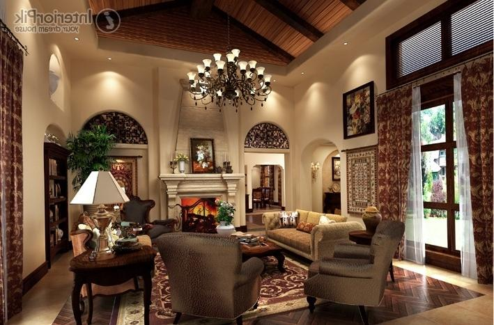 Photos of american living rooms for Showroom living room ideas