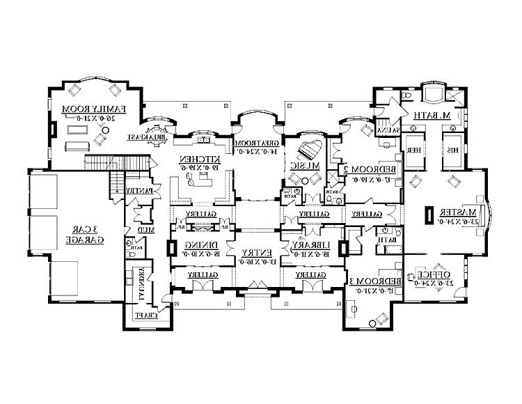 French chateau house plans photos for French chateau floor plans