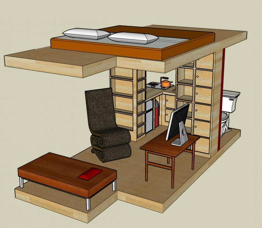 Sketchup Home Design: Pictures Of B 53 Tumbleweed House