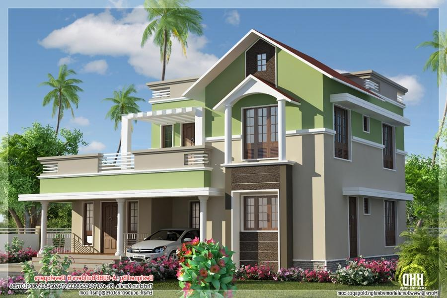Pictures of 1785 sq.feet contemporary mix 4 bhk house |...