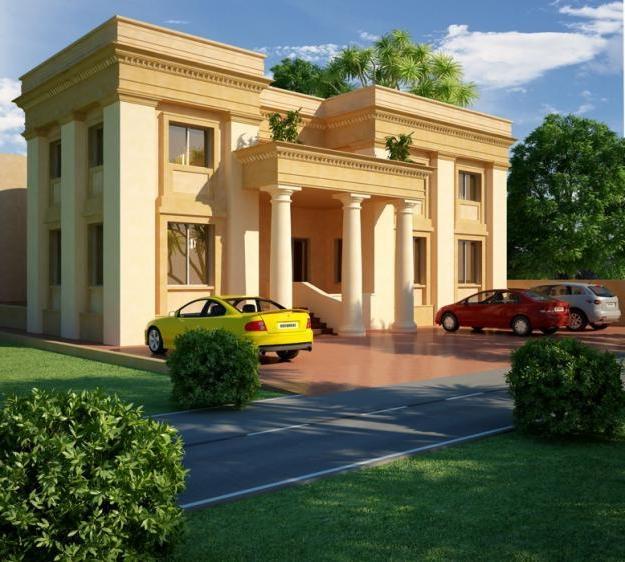 Home Design In Pakistan: Pakistan House Map Photos Exterior