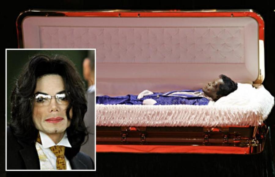 Jackson open casket