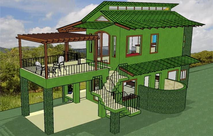 Houses designs photos for Eco friendly house designs in the philippines
