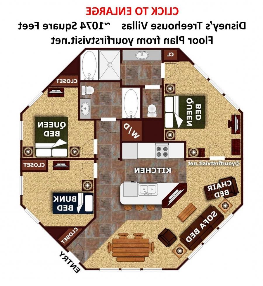 saratoga springs treehouse villa floor plan trend home