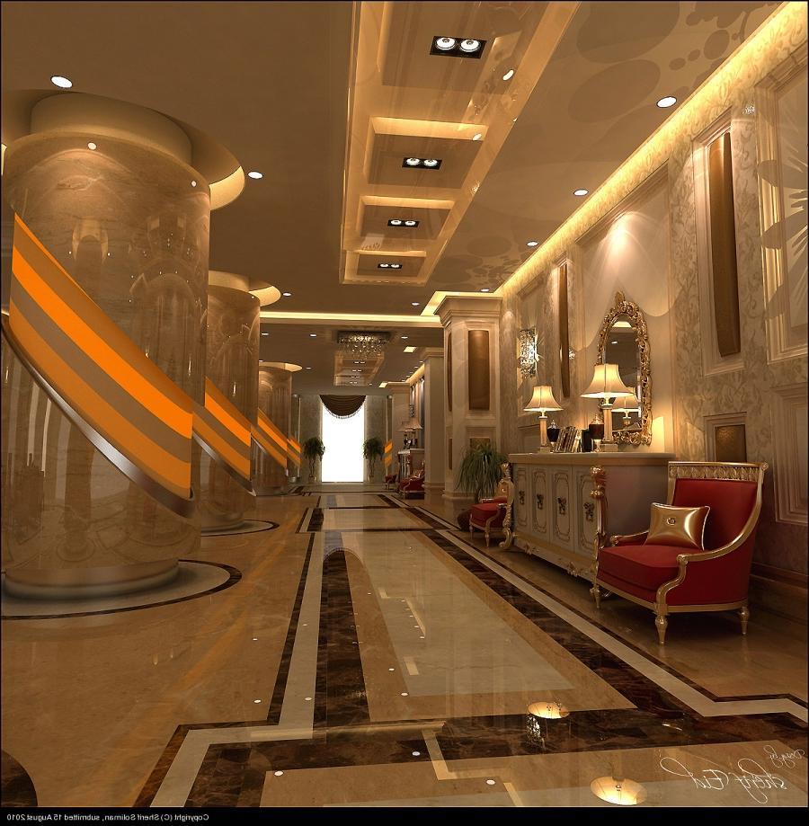 Interior Pillar Design Photos