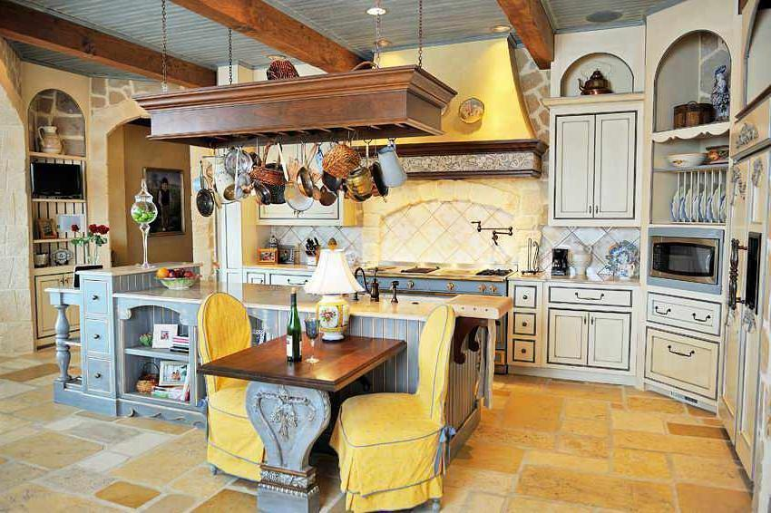 ... Style French Kitchen Interior Inspirations Ideas ...