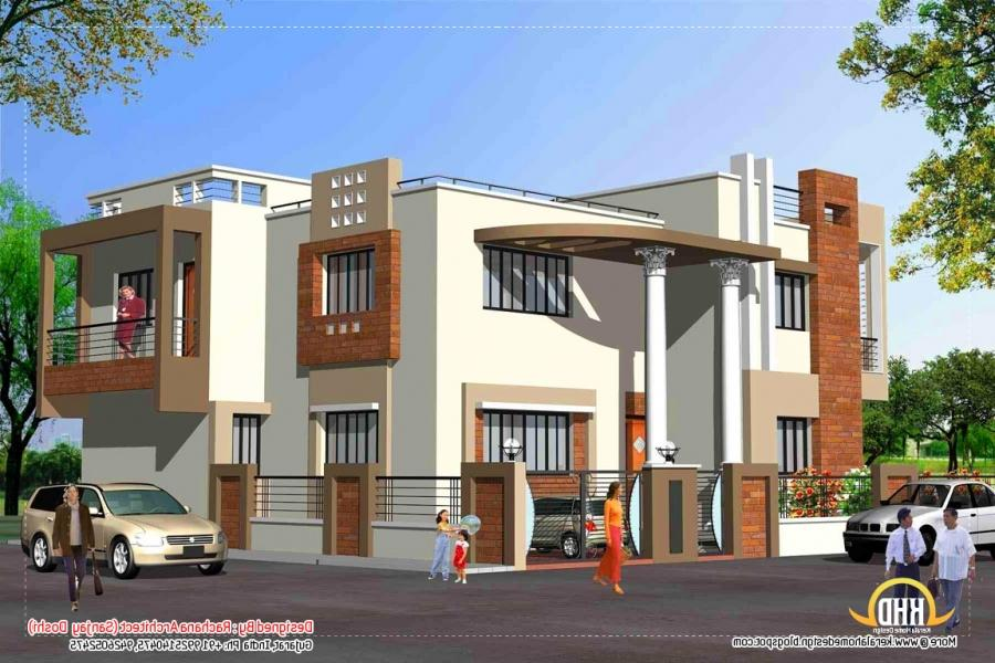 Front Elevation House Colours : Indian home front elevation painting colours joy studio