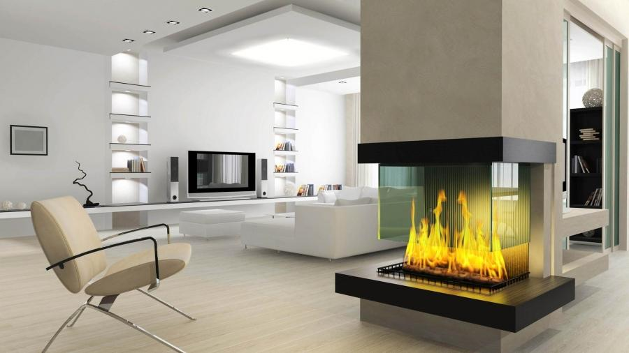1920x1080 Interior Fireplace wallpaper
