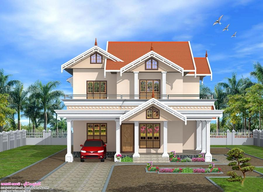 Front Elevation Of Houses In Kerala : Front elevation of house in kerala photos