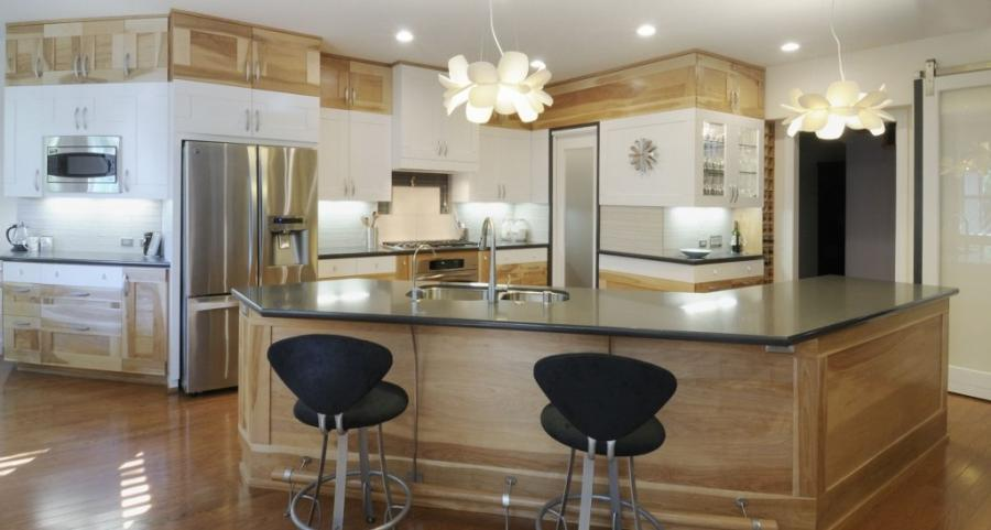 Angled Kitchen Island Photos