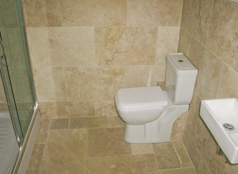 Travertine bathrooms photos for A c bathrooms sheffield