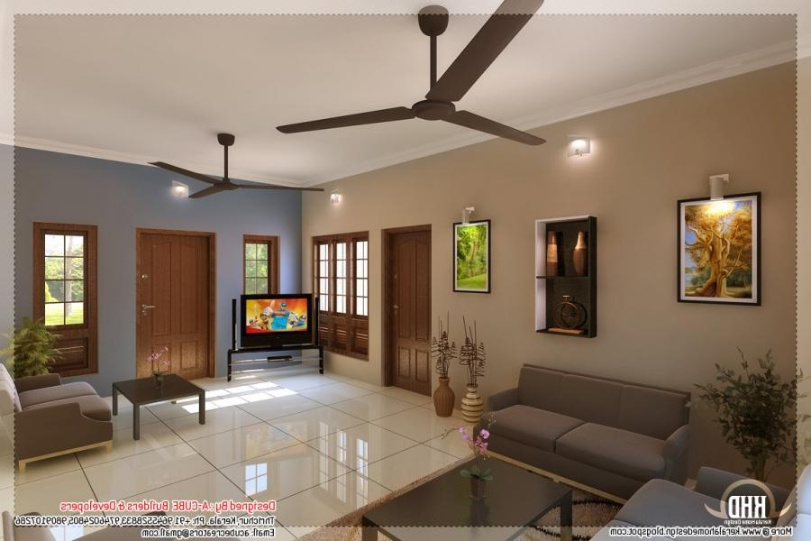 Indian home interior design photos middle class for Small hall interior design photos india