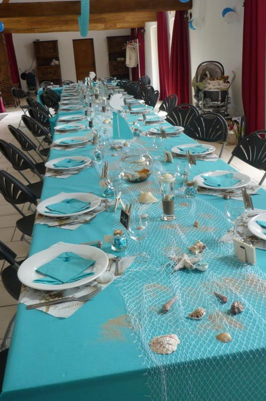 Photo De Decoration De Table Pour Bapteme