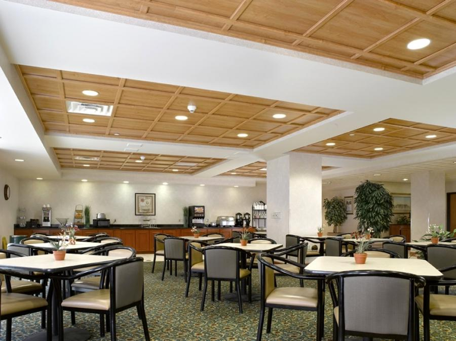Wingate Restaurant of Wyndham Hotel Interior Design with...