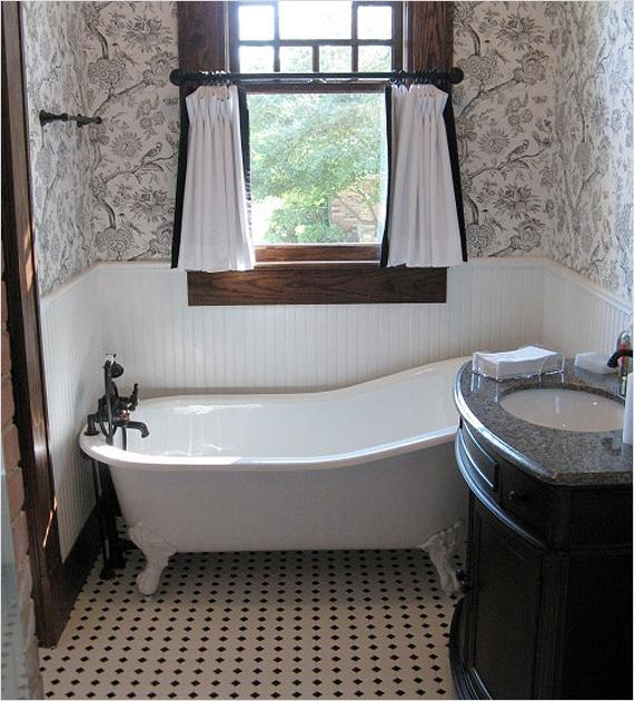 Bathrooms Are Usually Traditional With Freestanding Clawfoot