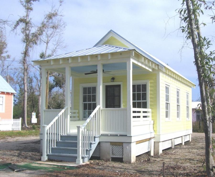 Interior photos of katrina cottages for Katrina homes