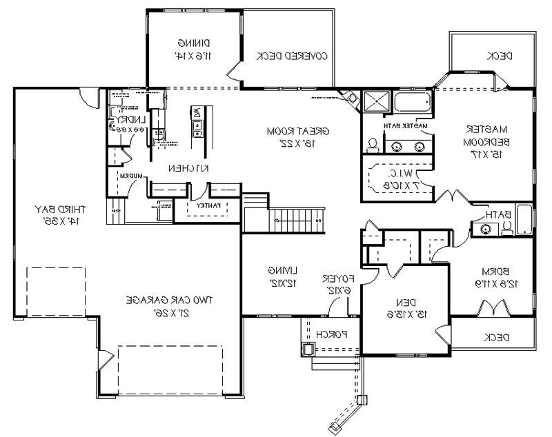 Garden and Home offers house plans for download. Basic house plan...