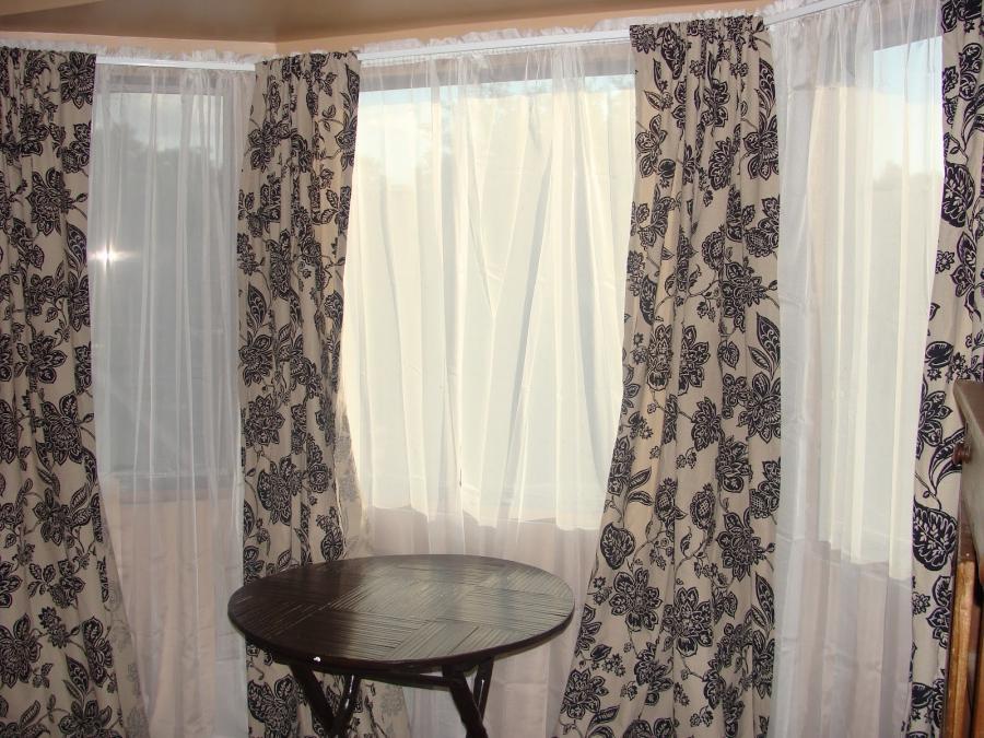 Curtains For Bay Window Photos