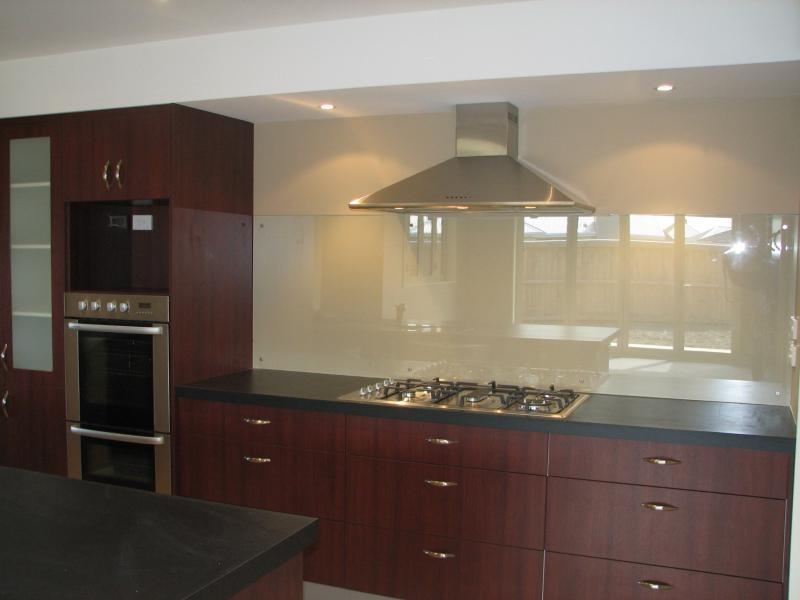 Resene Back Painted Kitchen Glass Splashback