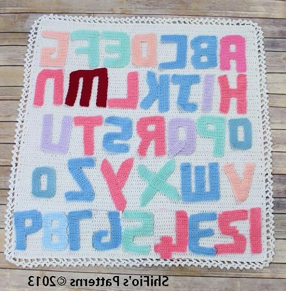 Crocheting Letters On A Blanket : Crochet Letters Into A Blanket source