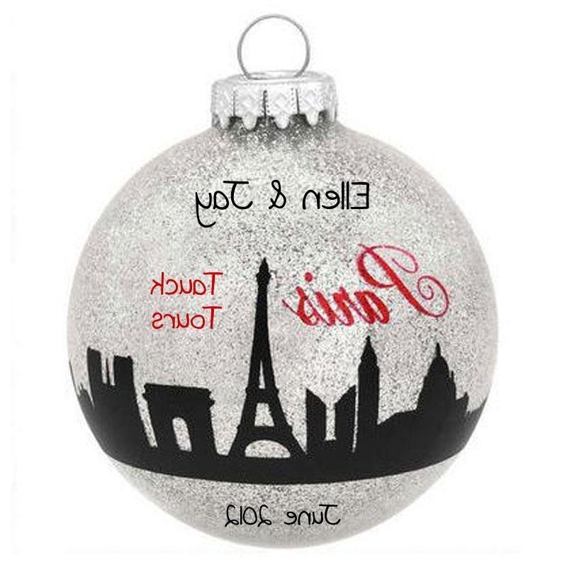 Personalized glass ball photo ornaments