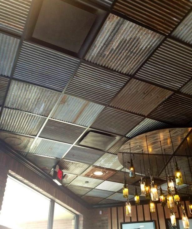 Corrugated Metal Ceiling Photos