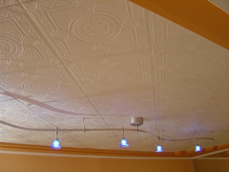 Replacing ceiling tile