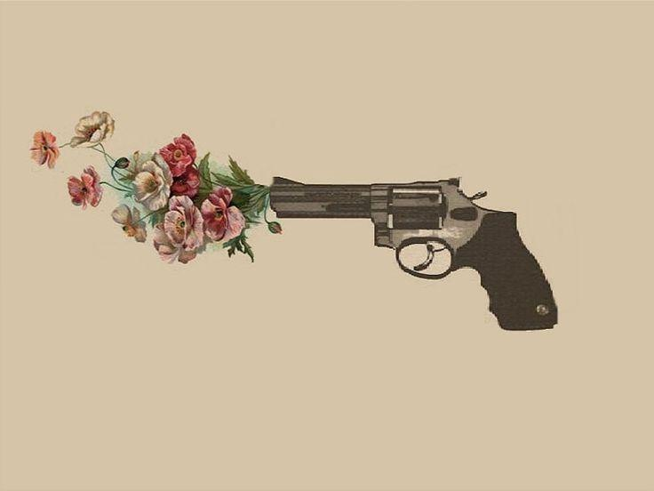 Gun Shooting Flowers Art | www.imgkid.com - The Image Kid ...