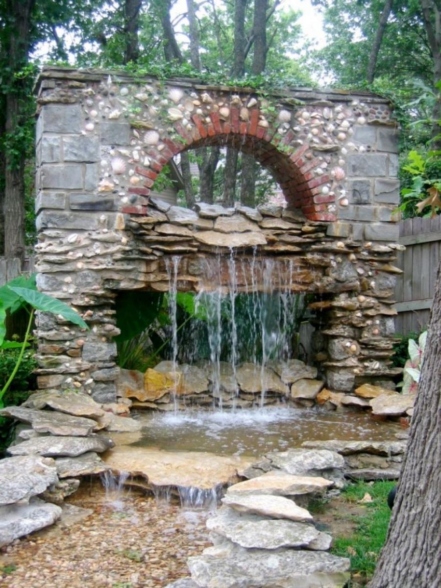 Оригинальные водопады своими руками