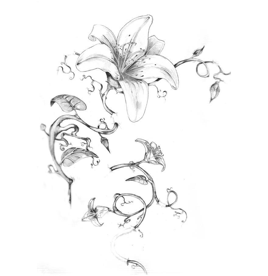 Flower Tattoo Photo Gallery