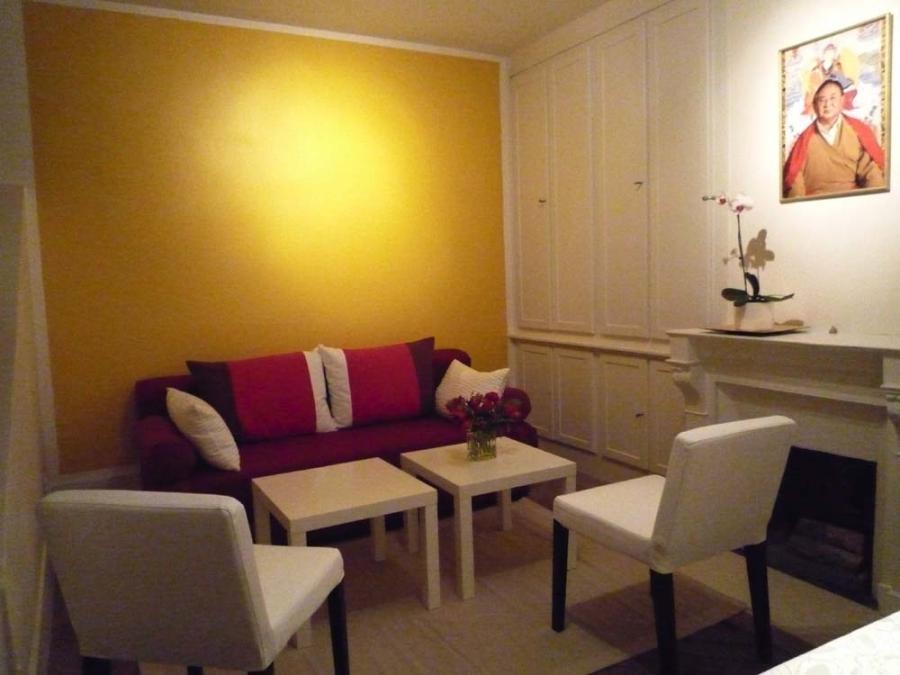 photos decoration peinture salon. Black Bedroom Furniture Sets. Home Design Ideas