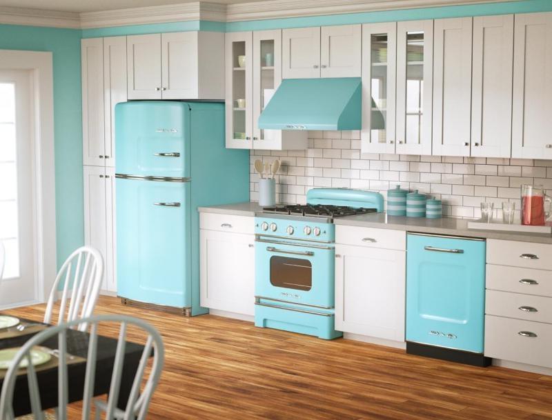 Beachnut Lane Turquoise and aqua Kitchens! source
