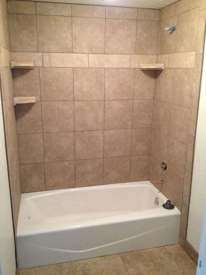 Tile tub surround photos for 9x12 bathroom design