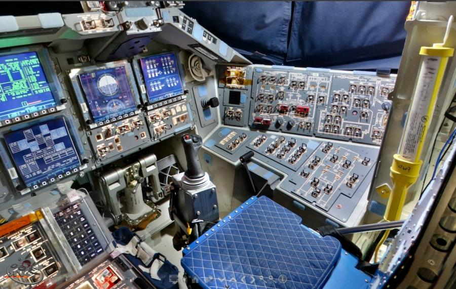 space shuttle interior 3d scan - photo #19
