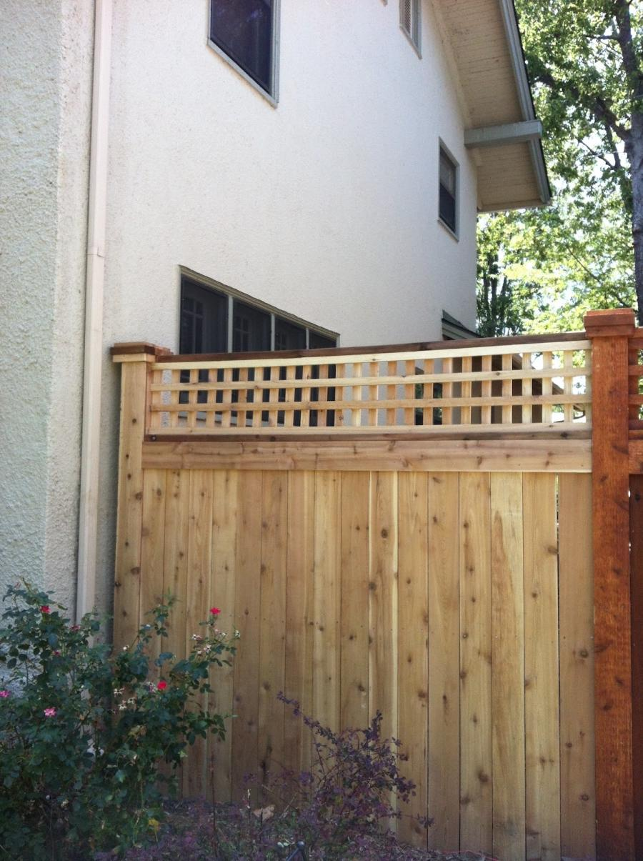 Arts And Crafts Style Fencing