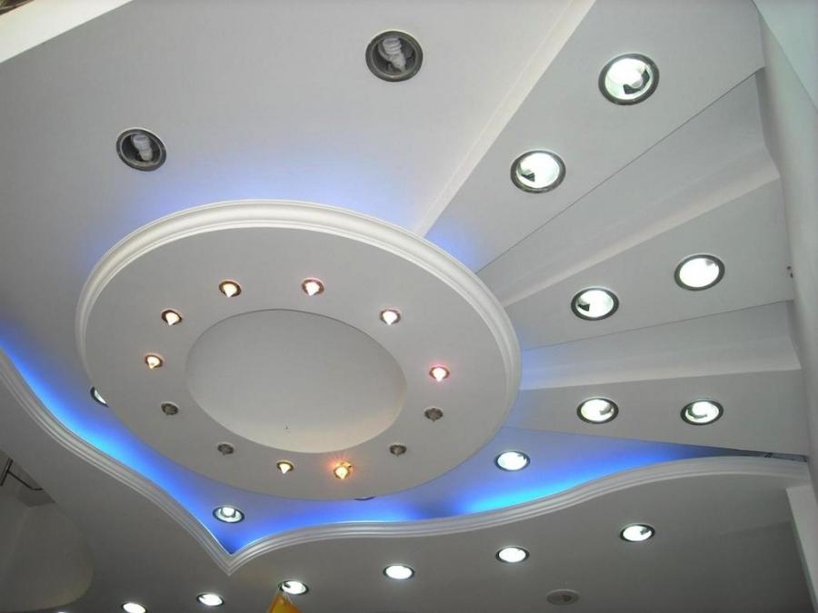... white false ceiling designs for living room