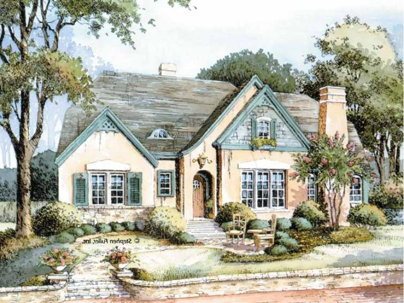 Tudor english cottage photos for English cottage style home plans