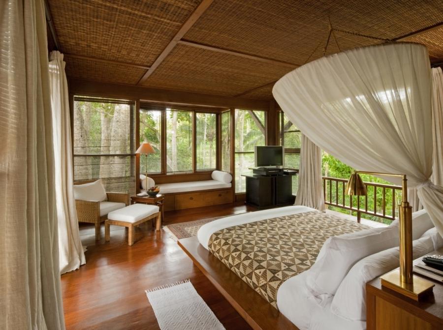 Como Shambhala Estate Bali Bamboo Matting And Wood Organic
