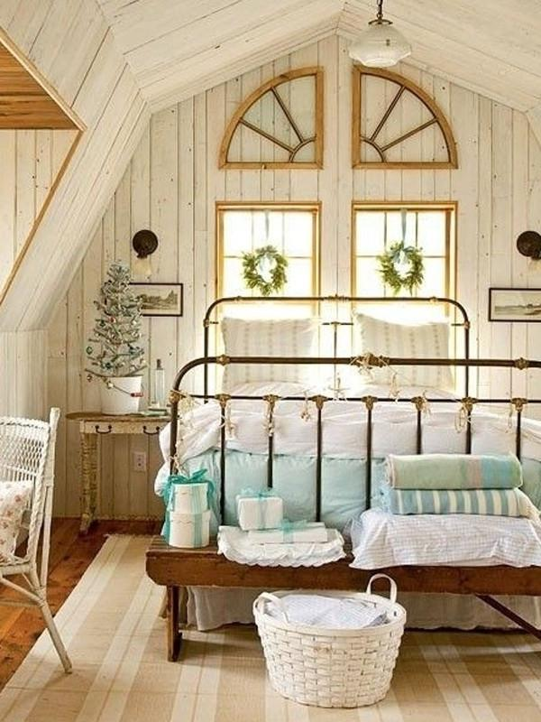 Admirable Tone For Retro Wooden Attic Bedroom Interior Design X...