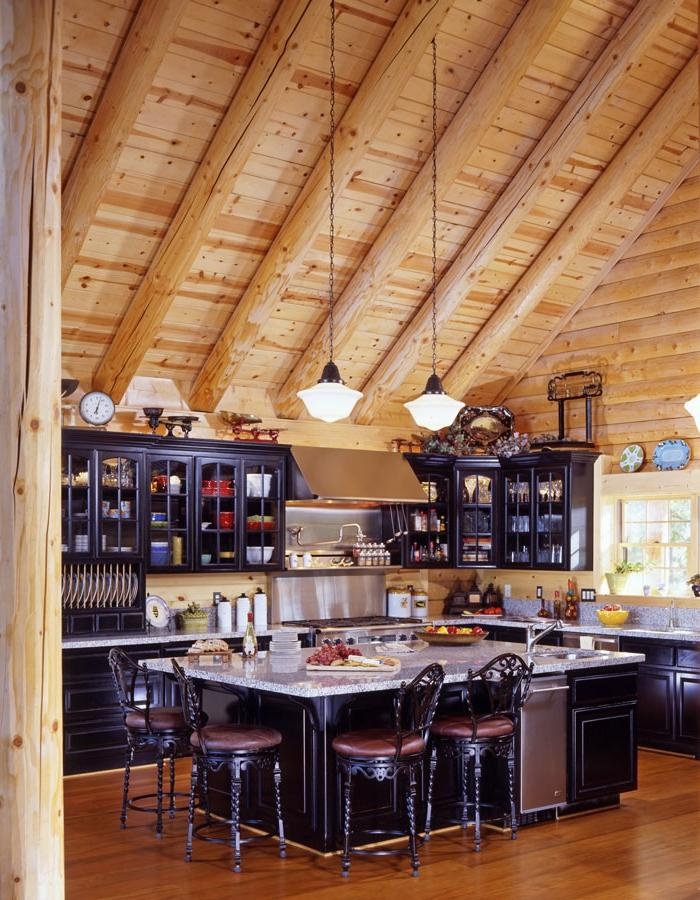 Log Home Living Real Log Style Source