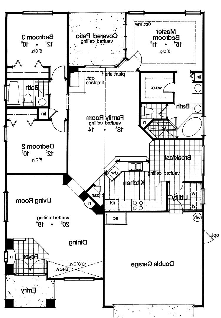 New american house plans photos for New american home plans