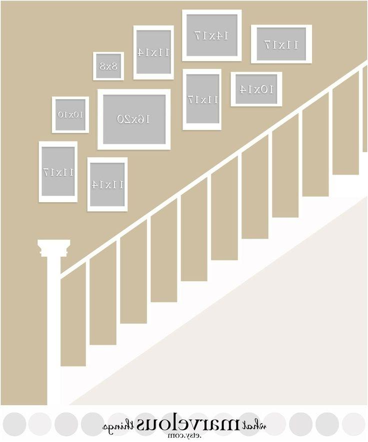 Stair Photo Gallery Template