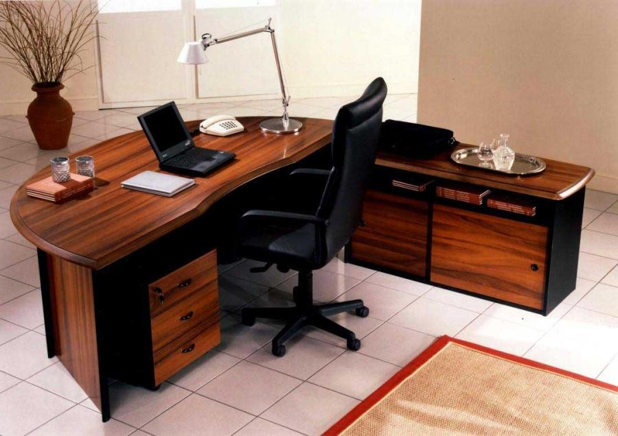 Photos of office desks for Homesource furniture