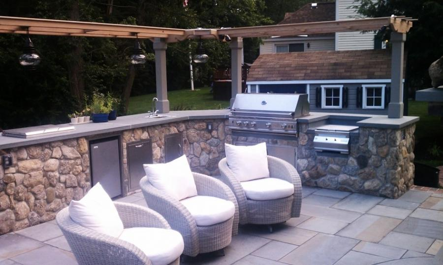 Outdoor kitchen photos houston for Outdoor kitchen designs houston texas